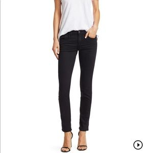 "Rag & Bone ""The Dre"" Black Skinny Jeans"